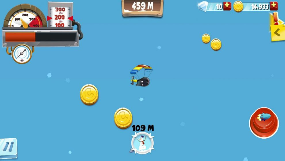 Make that penguin fly in Learn to Fly 2